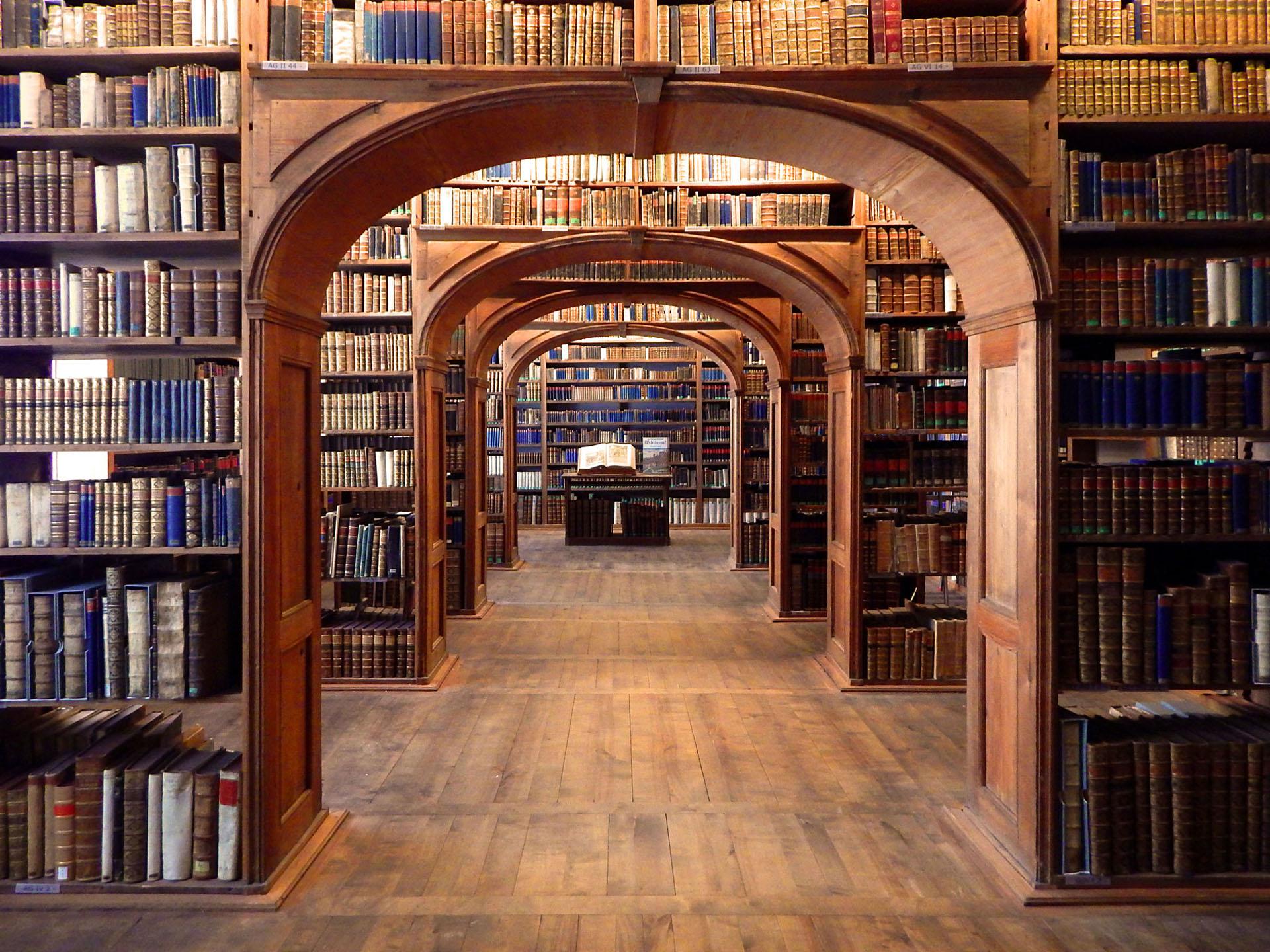 Oberlausitzische Bibliothek - historischer Bibliothekssaal