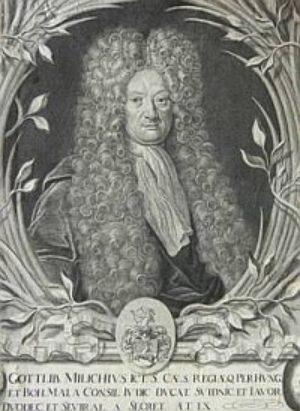 Johann Gottlieb Milich (1678 - 1726)