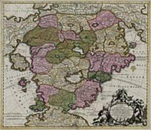 Karte des Schlaraffenlandes [ca. 1730]