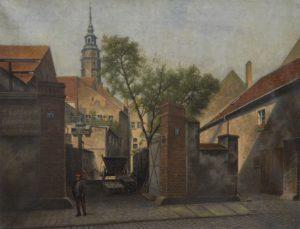 Moritz Werner, Der Görlitzer Malerwinkel, 1914