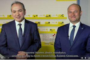 Octavian Ursu, Oberbürgermeister der Großen kreisstadt Görlitz, und Rafał Gronicz, Bürgermeister der Stadt Zgorzelec
