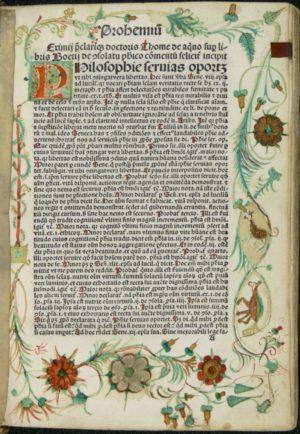 Boethius Blatt 1