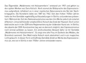 Dora Kolisch Waldesinneres mit Holzsammlerin-06
