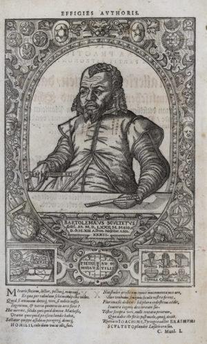 Scultetus Porträt