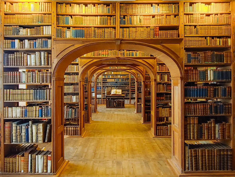 Historischer Büchersaal der Oberlausitzischen Gesellschaft der